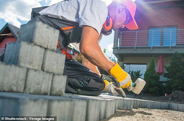 Boris Johnsonis proposing to relax planning rules so homes can be built,making it difficult for homeowners to block new housing schemes, in the biggest shake-up in 70 years (stock image)