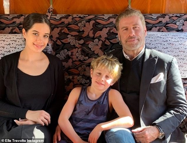 Travolta is now raising Ella, 21, and Benjamin, 10, as a single dad and told Esquire Spain's May issue:'I will ensure the future of my children, help them with what they want to do with their lives'