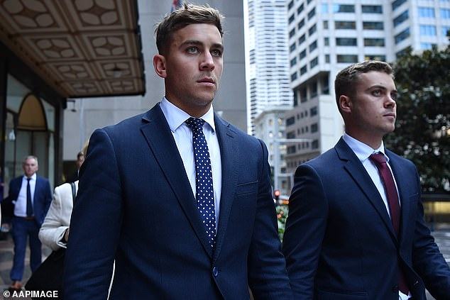 Callan Sinclair, 24, was likewise found not guilty of the rape charge. However, the jury failed to reach a verdict on the other five charges