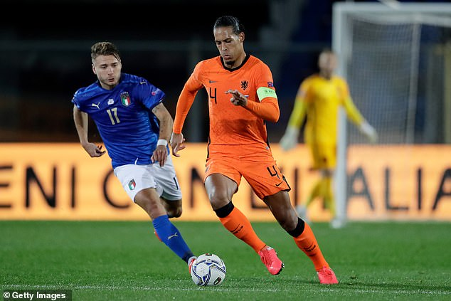 Frank de Boer will be desperate to have Van Dijk fit for Euro 2020 finals but won't force him