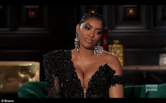 Loyal:'I'm still friends with her,' Porsha said. 'I'm loyal to Tanya, and she didn't want to be in the group anymore. End of story'