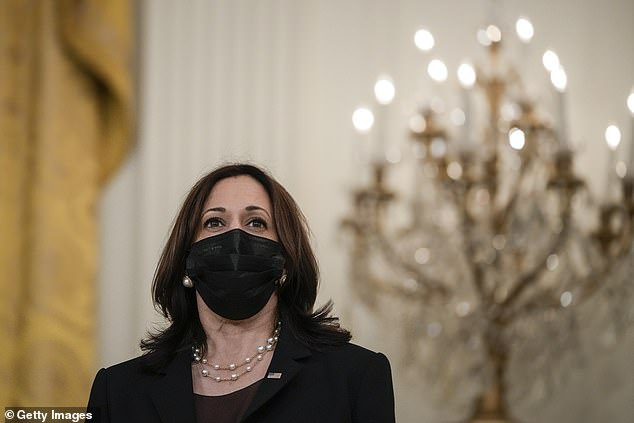 Kamala Harris - named Joe Biden's border czar - still hasn't held a news conference with the press 47 days after being handed the role