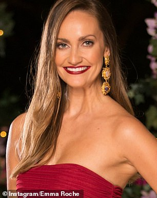 Before: Emma showed off her natural beauty on The Bachelorin 2019