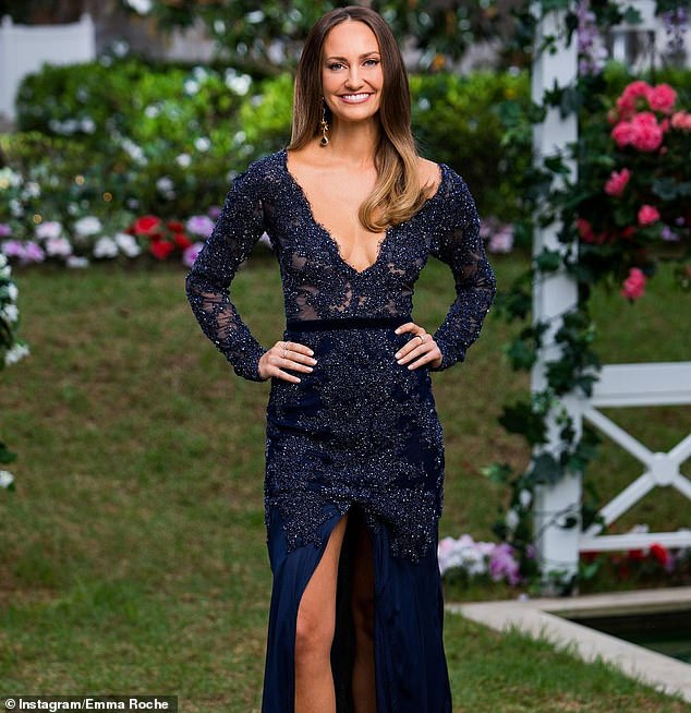 Breakout star:Emma made it to the top four on season seven of The Bachelor, before she was eliminated by astrophysicist Matt Agnew