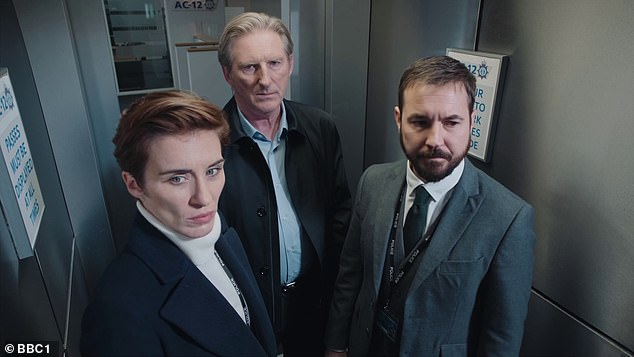 Success:Line of Duty has become the UK's most-watched drama series of the 21st century after more than 15 million viewers tuned in for its final episode