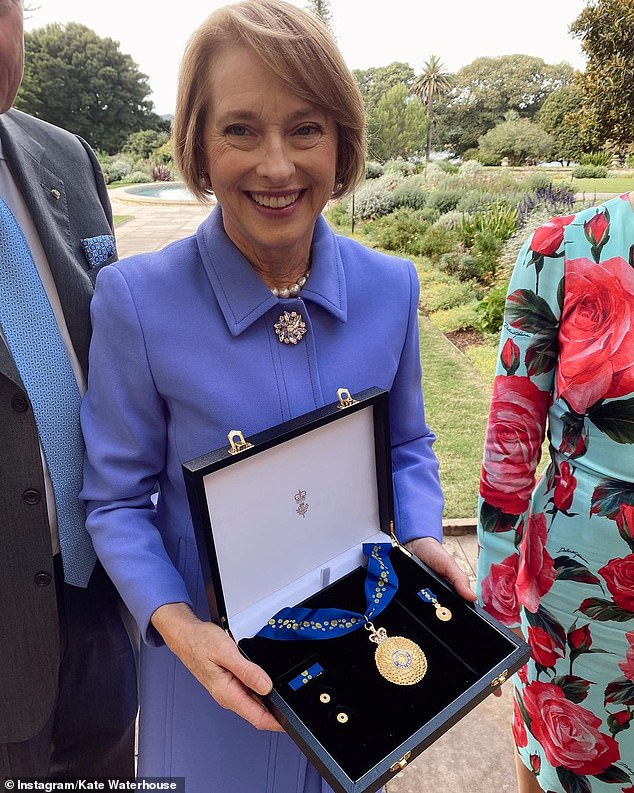 What a feat!The workout comes after Kate shared a heartfelt tribute to her mother after reaching a major milestone. On Tuesday, the racing heiress shared photos to Instagram showing her Gai receiving an Order of Australia medal
