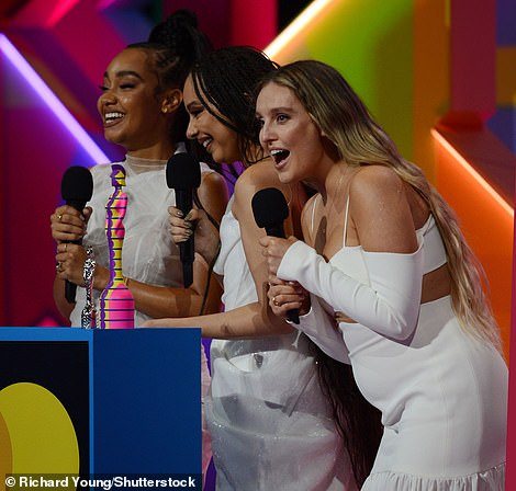 Over the moon! Just days after announcing their pregnancies, Leigh-Anne Pinnock and Perrie Edwards took to the stage with Jade Thirlwall