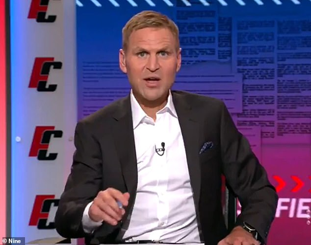 Kane Cornes said was concerned he saw Franklin's career 'coming to the end pretty quickly'