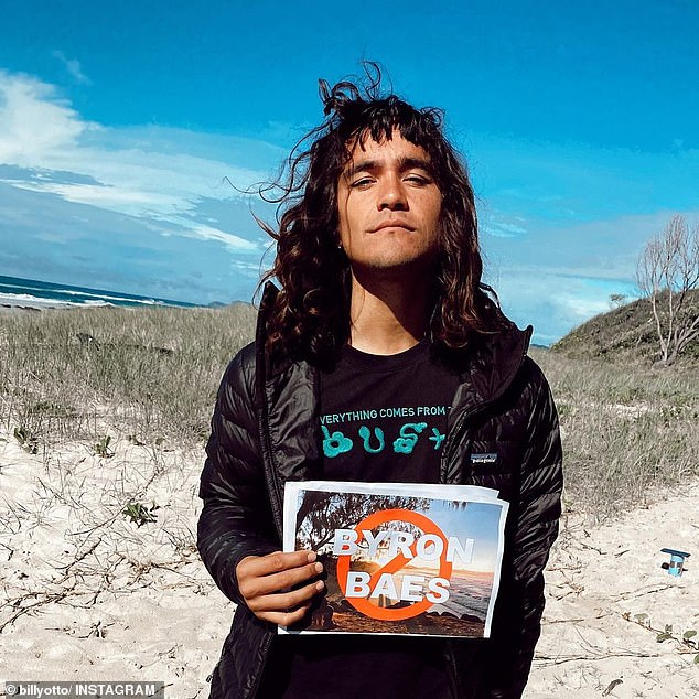 'Yep, I feel embarrassed': Musician Billy Otto (pictured) claimed he quit the Netflix show just days after the cast was leaked, saying he 'felt embarrassed' to be associated with the program