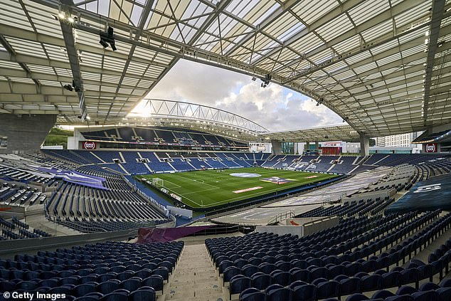 But the Estadio do Dragao, 59,000 seats in Porto, now seems to host the flagship event