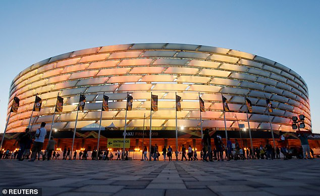 The Olympic Stadium in Baku will also play host to three group games and a last-16 tie