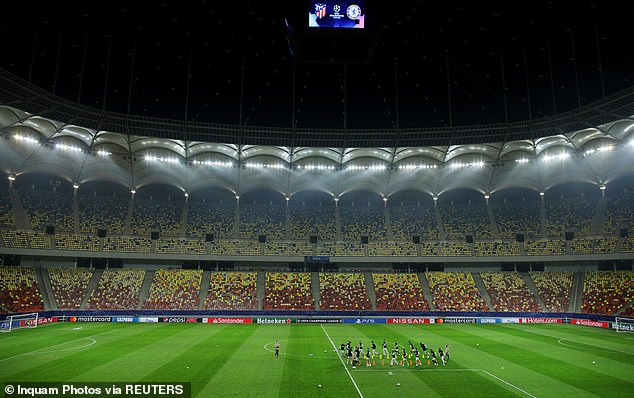The Arena Nationala in Bucharest, Romania, was built in 2011 and has a capacity of 55,600