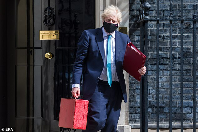 Downing Street was tight-lipped today after it emerged Boris Johnson has an outstanding £535 county court debt