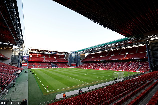 The Parken Stadium is set to host three Group B matches as well as a round of 16 clash