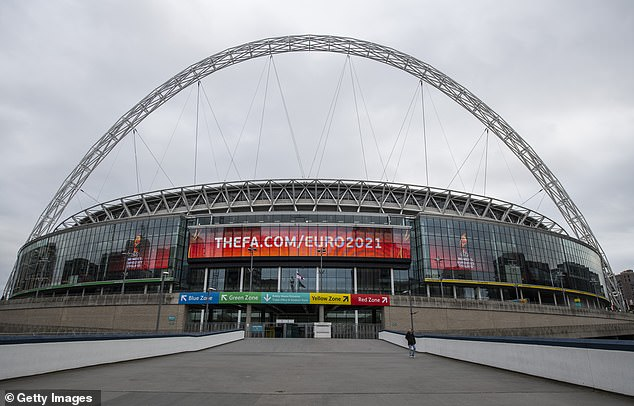 Wembley will host eight matches at the Euros this summer, including the semi-finals and final