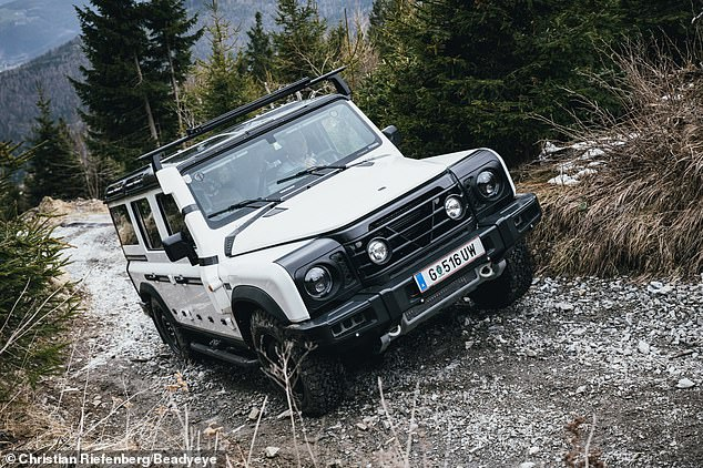 The hardened 4X4 is said to have completed a 'punishing examination of its off-road capabilities on one of the most formidable 4X4 testing grounds in the world'