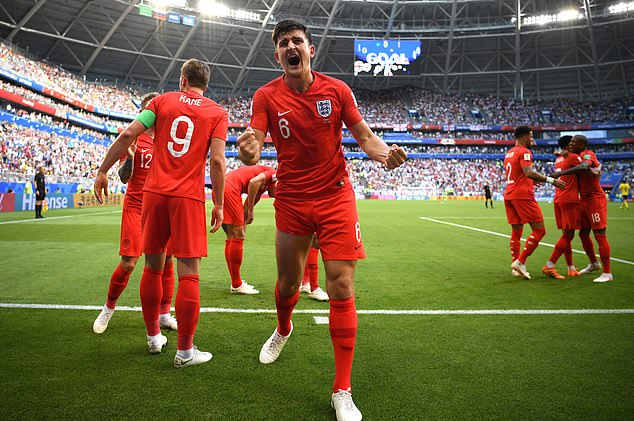 Maguire was a star performer in England's run to the semi-finals of the 2018 World Cup