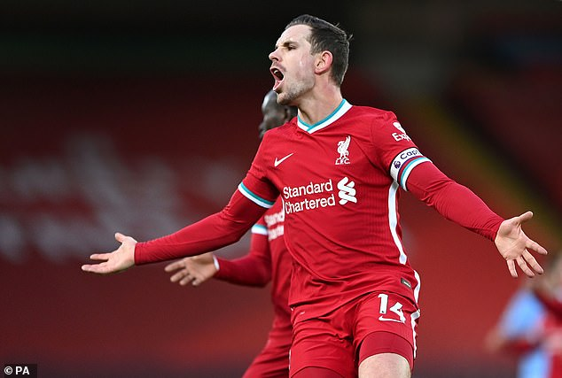 Jordan Henderson faces a race against time to be fit for England's Euro 2020 campaign