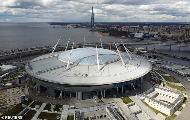 The Krestovsky Stadium will host seven matches at this summer's European Championships
