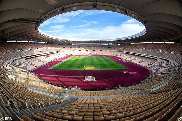 Seville was a late replacement as a host for the European Championships, after Bilbao was unable to provide UEFA with assurances they could permit a minimum of 25 per cent capacity