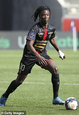 Eduardo Camavinga has received 'a lot of offers from top clubs' according to Jonathan Barnett