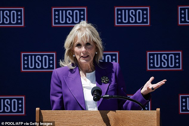 Getting involved:The White House announced that Garner will accompany First Lady Dr. Jill Biden to visit two schools in Jennifer's home state of West Virginia on Thursday. Pictured in May 2021
