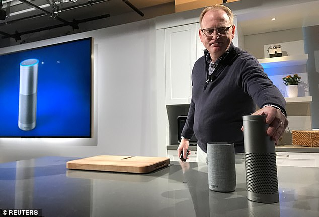 Amazon.com Inc., Senior Vice President David Limp Presents Voice-Activated Echo and Echo Plus Devices Announced at Event at Retailer's Seattle Headquarters in 2017