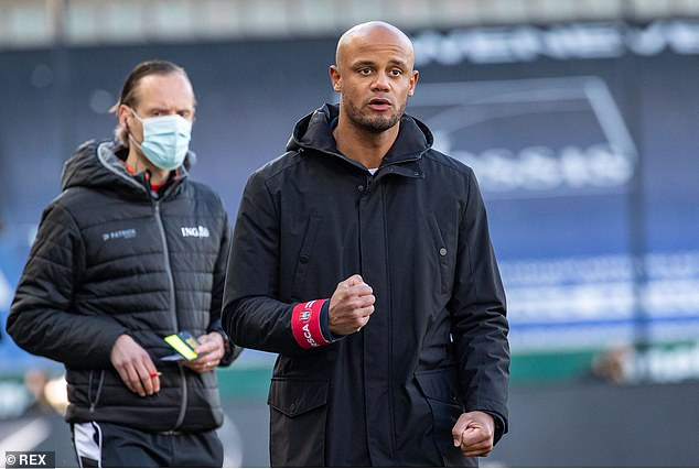 The midfielder said he would welcome an approach from Vincent Kompany's Anderlecht