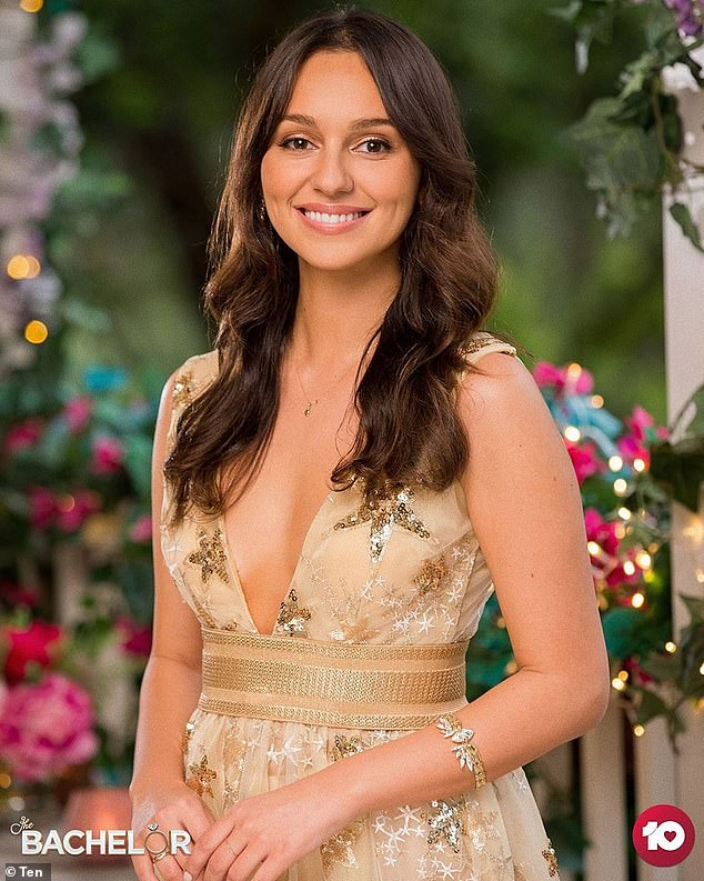 Remember this? Fans will remember Bella was brutally dumped by Locky during The Bachelor finale last year.
