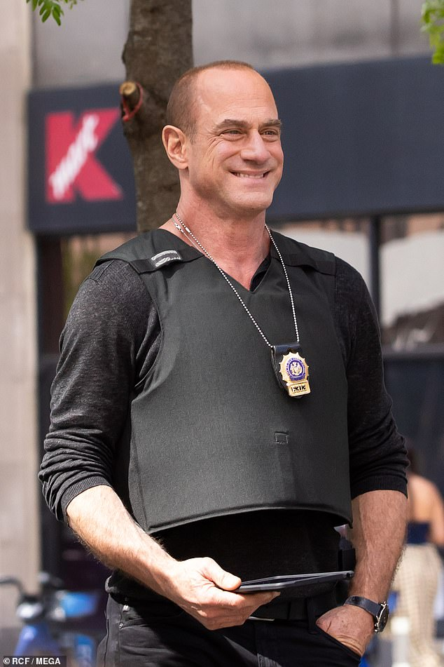 Successful comeback: Meloni leads a cast that also includes Dylan McDermott and Tamara Taylor, with the show airing Thursday nights at 10 PM on NBC