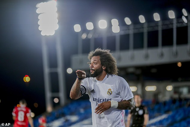 Marcelo will play no part for Real Madrid against Granada after being dropped from the squad