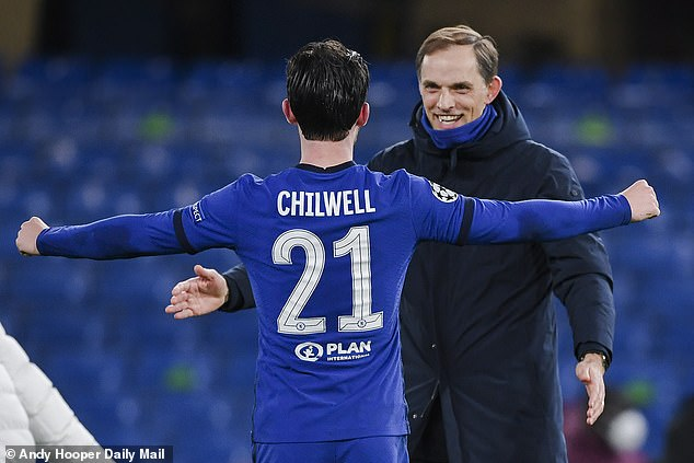 There were concerns over his place at first but Chilwell has won the trust of Thomas Tuchel