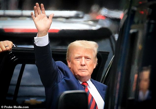 Donald Trump was in New York City at the start of the week after flying north from his winter base in Florida. He is expected to hold two rallies in June as he enters a new phase of his political life