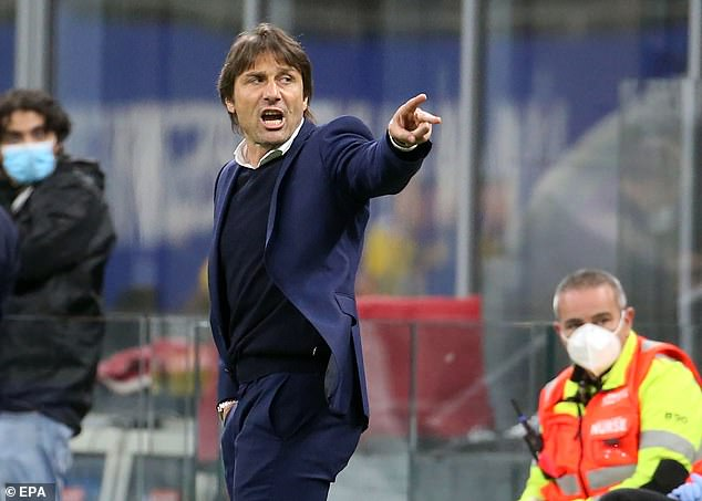 Conte then furiously berated the striker from the touchline for his actions on the night