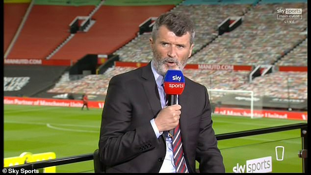 Former United captain Roy Keane sided with Souness and felt the incident was a penalty