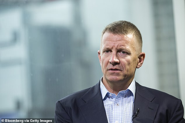 An intelligence officer who worked with Erik Prince, the former Blackwater executive, trained personnel on targeting Trump 'enemies'
