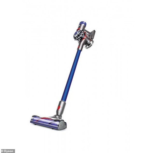 Dyson has launched a huge sale on a range of popular vacuum cleaners - including its V7 Motorhead Origin vacuum stick (pictured) for just $349