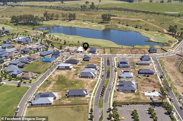 Sydney's property market is so overheated prospective buyers are paying $2,000 fees just to view blocks of land more than 80km from the city centre. Pictured is Lendlease's Bingara Gorge development