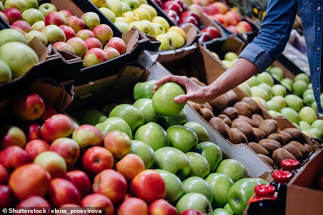 Researchers from Australia's Edith Cowan University examined the link between fruit and vegetable intake and stress levels of more than 8,600 people aged 25 to 91. Stock image