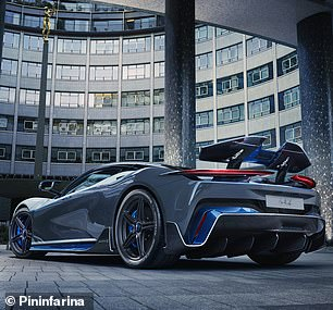 It accelerates from rest to 62mph in under two seconds but will cost a staggering £2.4million