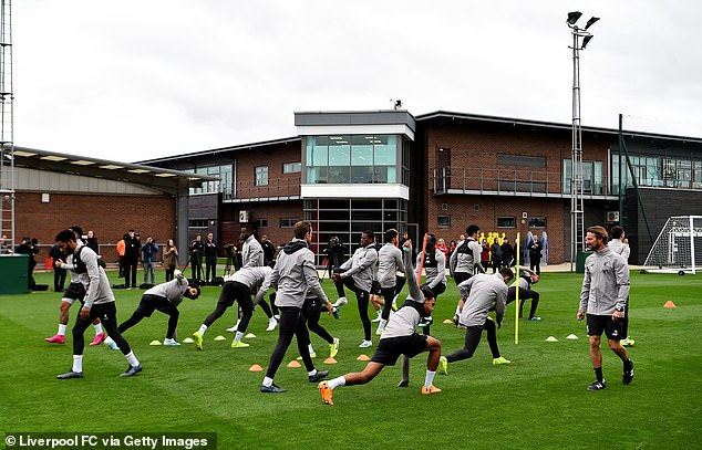 Jurgen Klopp's first-team squad left Melwood for a new £50million complex back in November