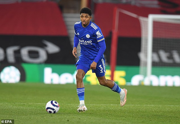 Wesley Fofana is one of three centre-backs following his brilliant first season in English football