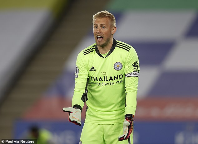 Kasper Schmeichel gets the nod in goal having demonstrated leadership for the Foxes