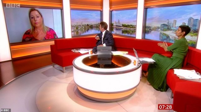 Sue Flynn, 55, from Leeds, is hoping to fly on holiday to Faro with Ryanair next Friday. She spoke toCharlie Stayt and Naga Munchetty on BBC Breakfast this morning