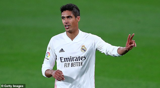 Manchester United are reportedly lining up a £40million bid for Real Madrid's Raphael Varane