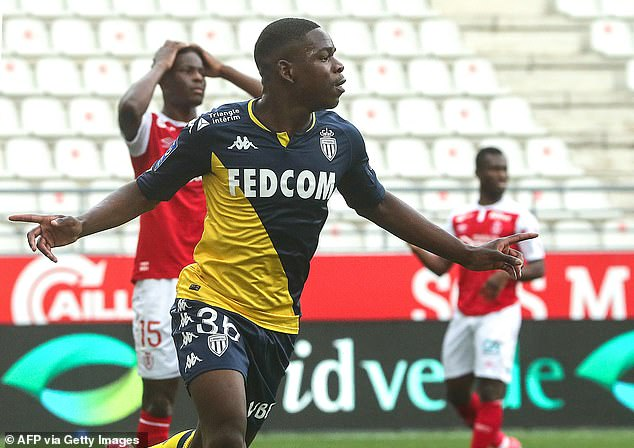 The third-placed team in Ligue 1 qualifies for the Champions League and Monaco are closing in