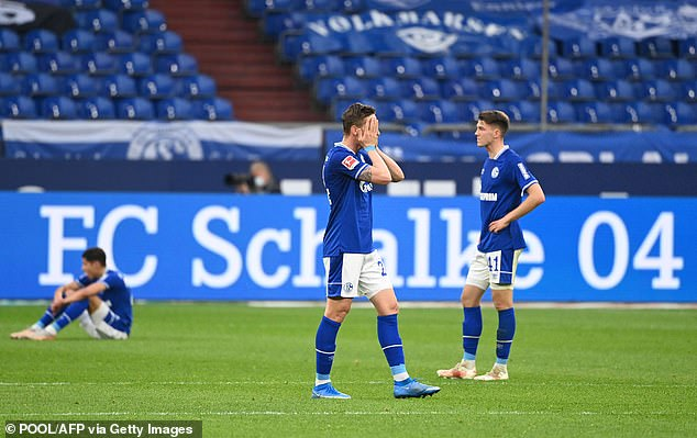 Fallen giants Schalke have dropped into 2. Bundesliga as a result of a truly disastrous season