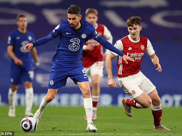 Jorginho spoke this week about how he feels completely at home at Stamford Bridge