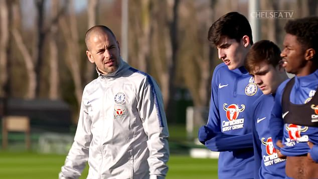 Cole, who left as Blues academy coach last year, also praised the current boss Thomas Tuchel