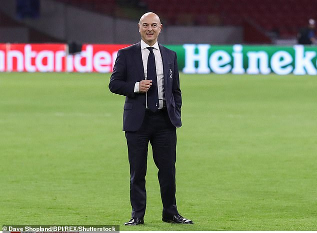 Levy has been criticised for signing Spurs up to the now defunct European Super League